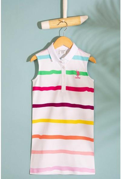 U.S. Polo Assn. Kız Çocuk Örme Elbise 50201969-Vr013