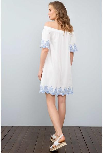 U.S. Polo Assn. Kadın Dokuma Elbise 50201979-Vr013