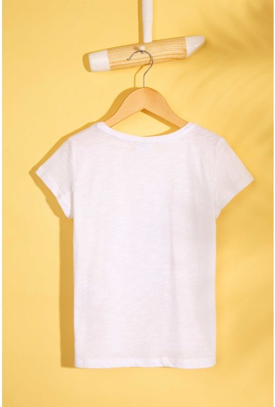 U.S. Polo Assn. Kız Çocuk T-Shirt 50202005-Vr013