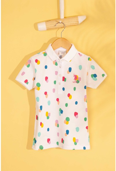 U.S. Polo Assn. Kız Çocuk T-Shirt 50202146-Vr013