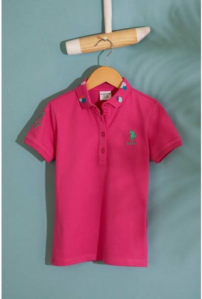 U.S. Polo Assn. Kız Çocuk T-Shirt 50202169-Vr023