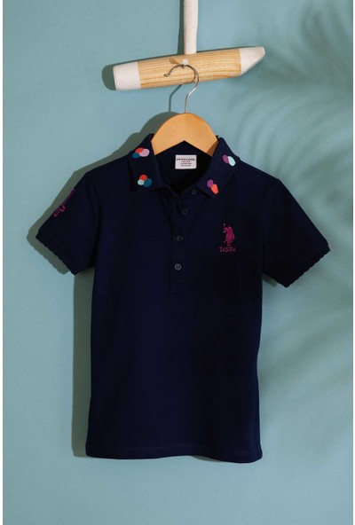 U.S. Polo Assn. Kız Çocuk T-Shirt 50202169-Vr033