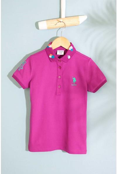 U.S. Polo Assn. Kız Çocuk T-Shirt 50202169-Vr037