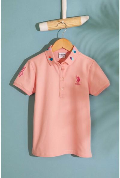 U.S. Polo Assn. Kız Çocuk T-Shirt 50202169-Vr041
