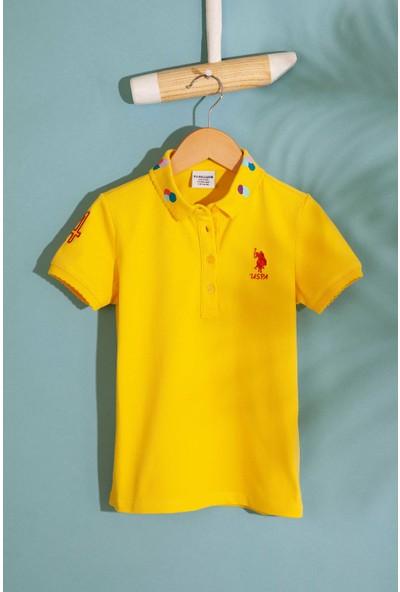 U.S. Polo Assn. Kız Çocuk T-Shirt 50202169-Vr044