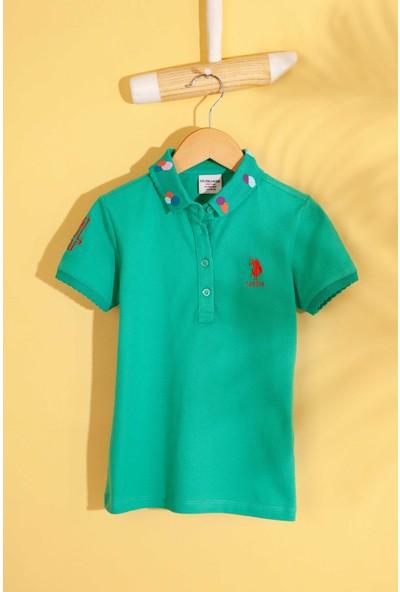 U.S. Polo Assn. Kız Çocuk T-Shirt 50202169-Vr090
