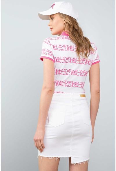 U.S. Polo Assn. Kadın T-Shirt 50202184-Vr023