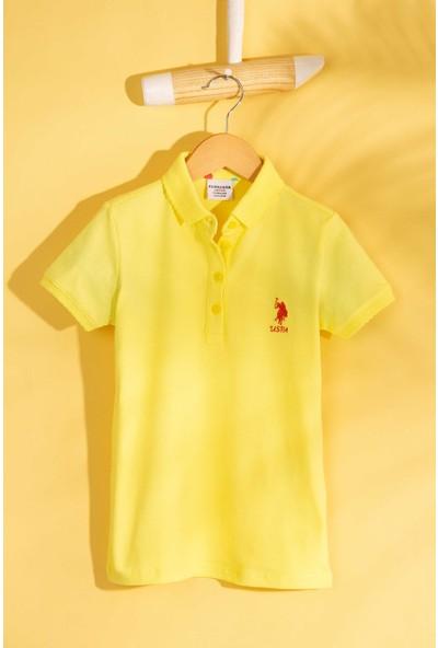 U.S. Polo Assn. Kız Çocuk T-Shirt 50202240-Vr004