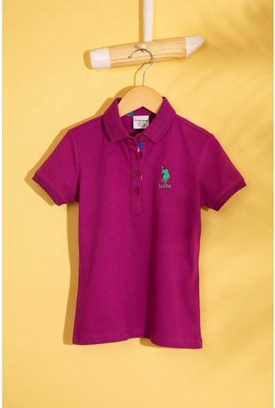 U.S. Polo Assn. Kız Çocuk T-Shirt 50202240-Vr037