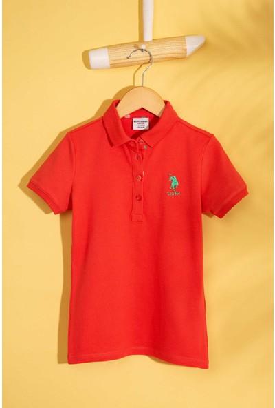 U.S. Polo Assn. Kız Çocuk T-Shirt 50202240-Vr039