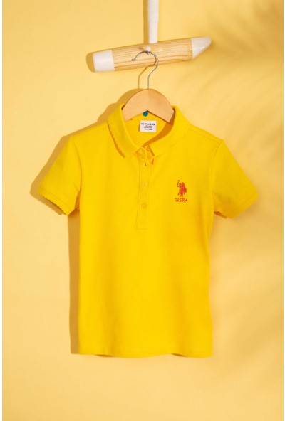 U.S. Polo Assn. Kız Çocuk T-Shirt 50202240-Vr044