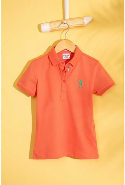 U.S. Polo Assn. Kız Çocuk T-Shirt 50202240-Vr047
