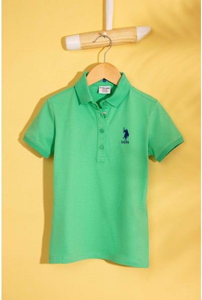 U.S. Polo Assn. Kız Çocuk T-Shirt 50202240-Vr054