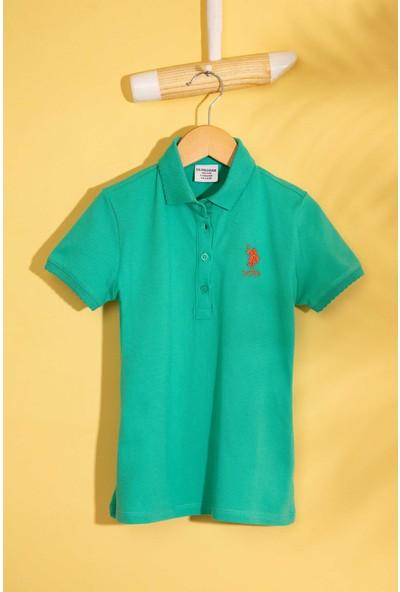 U.S. Polo Assn. Kız Çocuk T-Shirt 50202240-Vr090