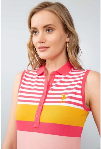 U.S. Polo Assn. Kadın T-Shirt 50204822-Vr162