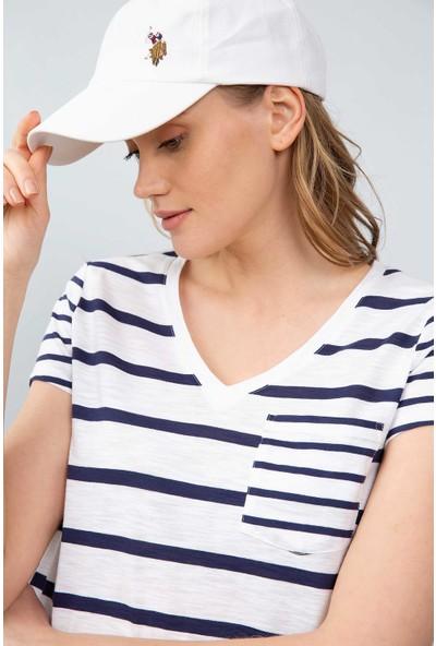 U.S. Polo Assn. Kadın T-Shirt 50204832-Vr033