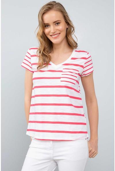 U.S. Polo Assn. Kadın T-Shirt 50204832-Vr162