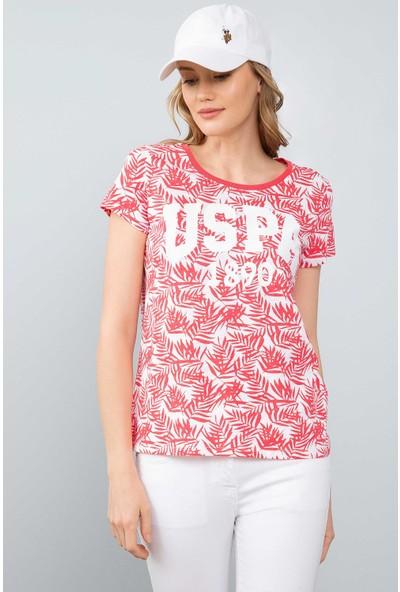 U.S. Polo Assn. Kadın T-Shirt 50204894-Vr162
