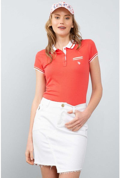 U.S. Polo Assn. Kadın T-Shirt 50204912-Vr039