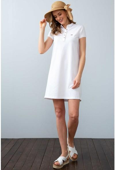 U.S. Polo Assn. Kadın Örme Elbise 50204931-Vr013