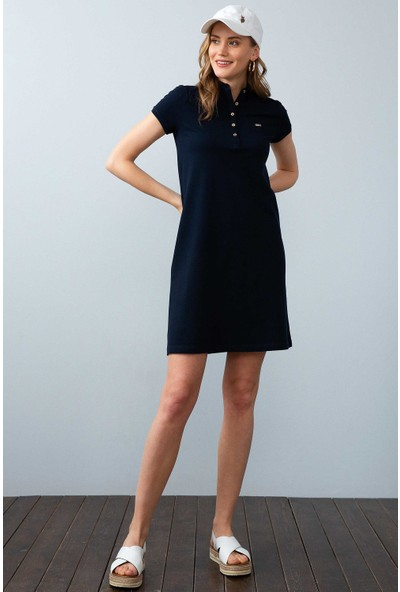 U.S. Polo Assn. Kadın Örme Elbise 50204931-Vr100