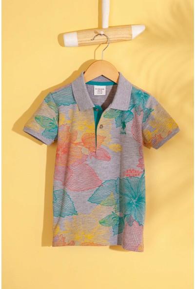 U.S. Polo Assn. Erkek Çocuk T-Shirt 50205317-Vr086