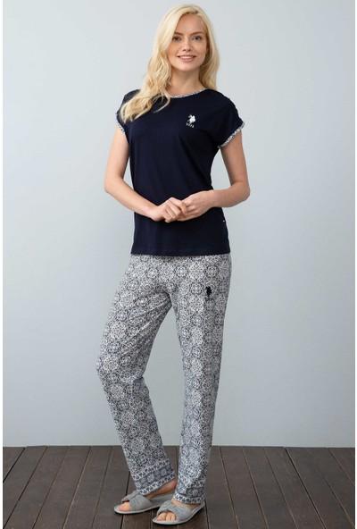 U.S. Polo Assn. Kadın Pijama 50212411-Vr033