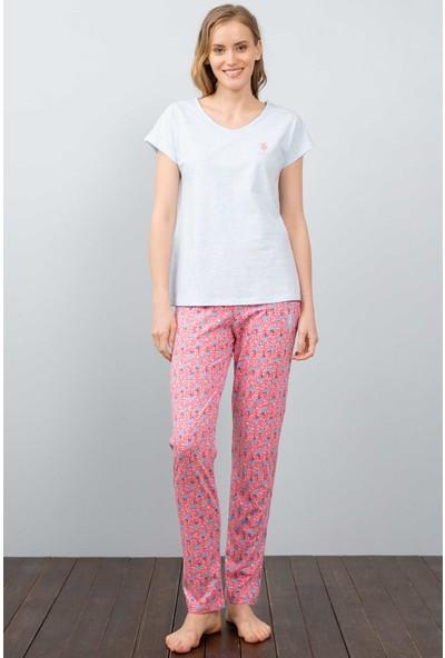 U.S. Polo Assn. Kadın Pijama 50212414-Vr113