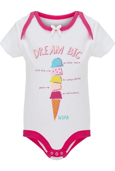 U.S. Polo Assn. Kız Bebek Body 50205046-Vr019
