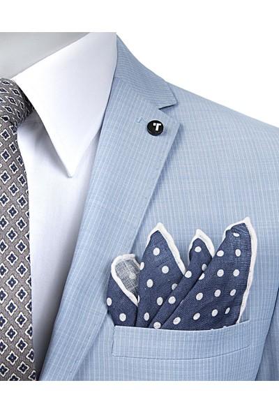 Tween Erkek Slim Fit Mavi Takım Elbise