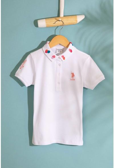 U.S. Polo Assn. Kız Çocuk T-Shirt 50202169-Vr013