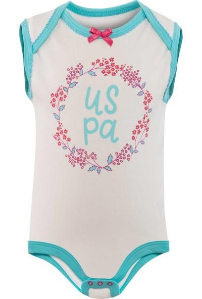 U.S. Polo Assn. Kız Bebek Body 50205051-Vr019