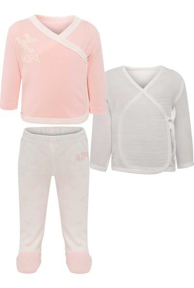 U.S. Polo Assn. Kız Bebek Örme Takım 50205136-Vr019