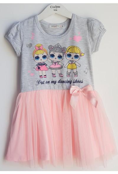 Pop Fashion Kız Çocuk Elbise