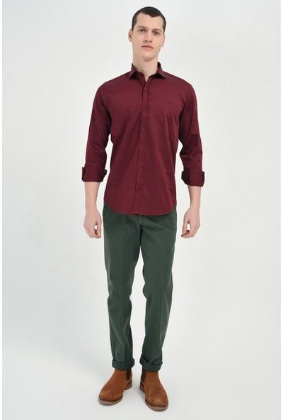 Morven Yeşil Gabardin Pantolon