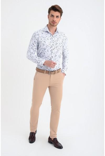 Morven Bej Montana Trend Pantolon