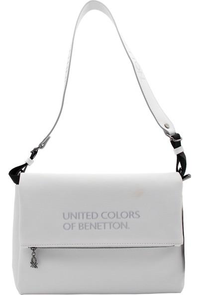 Benetton Kadın Çapraz Çanta Beyaz BNT69