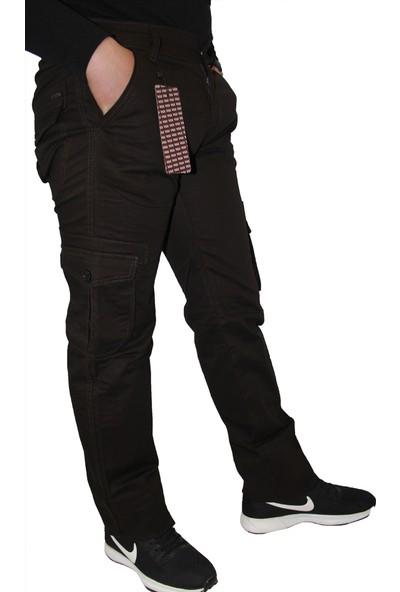 Saflee Kargo Pantolon Yeni̇ Sezon Erkek Kargo Çok Cepli̇ Pantolon