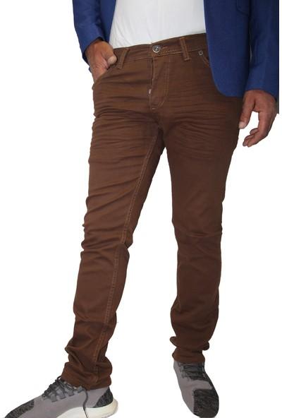 Saflee e 5001 Dar Kesi̇m Sli̇mm Fi̇t Oturtmalı ve Likralı Erkek Kot Pantolon