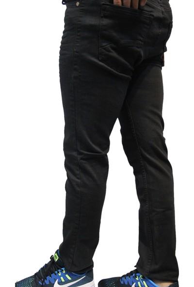 Saflee 882 Dar Kesi̇m Sli̇mm Fi̇t Oturtmalı ve Likralı Erkek Kot Pantolon
