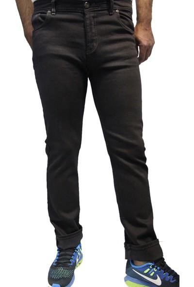 Lagers Jeans 552 Dar Kesim Oturtmalı Likralı Slim Fit Erkek Kot Pantolon