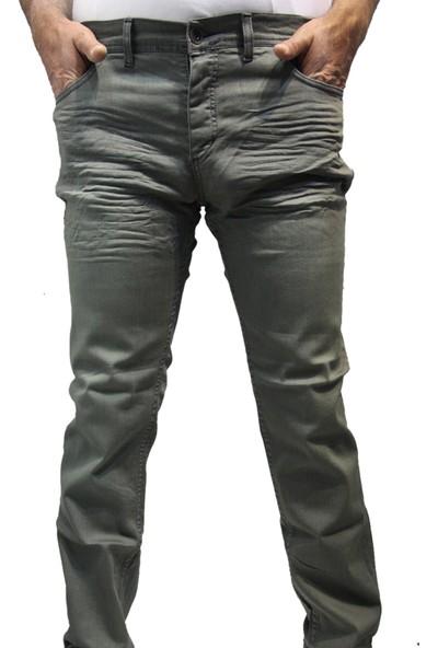 Saflee 410 Dar Kesi̇m Oturtmalı Likralı Sli̇mm Fi̇t Erkek Kot Pantolon