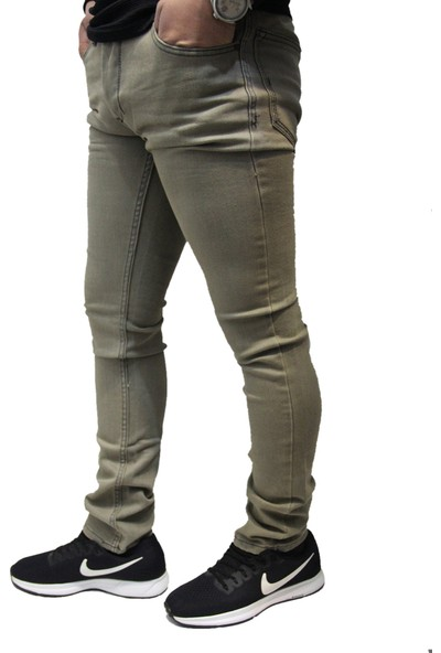 Jack Kevin 830 Dar Kesim Oturtmalı Likralı Slim Fit Erkek Kot Pantolon
