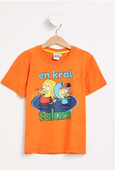 DeFacto Kral Şakir Lisanslı Erkek Çocuk T-Shirt