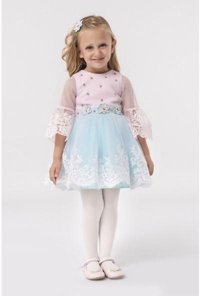 Pamina Kız Çocuk Abiye Elbise 18560