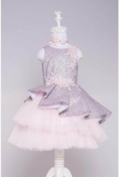 Pamina Kız Çocuk Abiye Elbise 19265