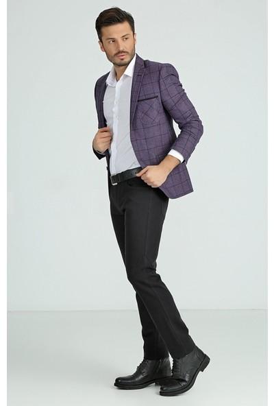 Comienzo Zara 5 Cep Pantolon 30663-Lacivert