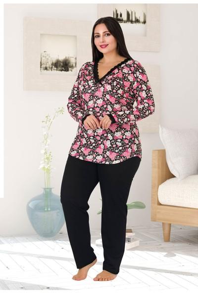 Lady Kadın Büyük Beden Pijama Takımı 172