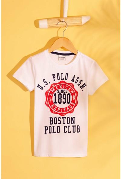 U.S. Polo Assn. Erkek Cocuk T-Shirt 50206280-Vr013
