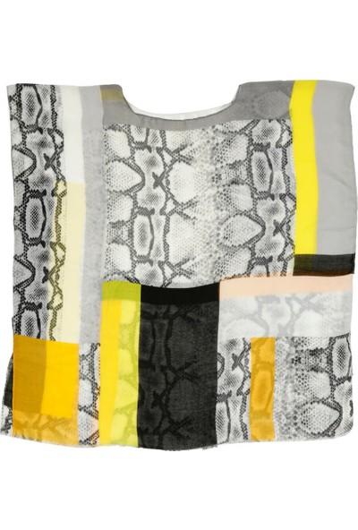 Nesway 11723-1 Sari Pareo 51Z Sarı Kadın Elbise